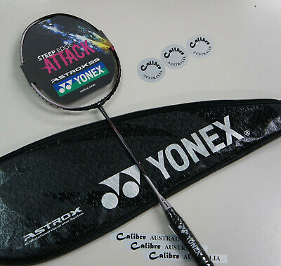 YONEX ASTROX 55 Badminton Racquet AX55, 5UG5 (78 g), Choice of String & Tension