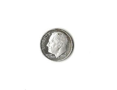 1996-S Silver Proof Roosevelt Dime