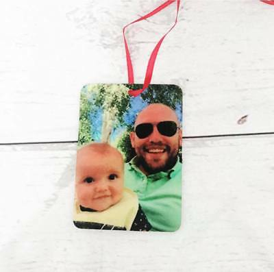Personalised Photo Car Air Freshener Gift Christmas Stocking Filler Secret Santa