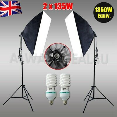 Portable Photo Studio 40CM LED Lighting Tent Kit Folding Light Box 4pcs Backdrop