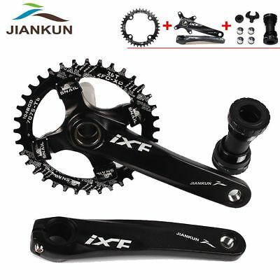 104bcd MTB Bike Crankset 170mm Arm Crank Bottom Bracket Chainring Chainset BB