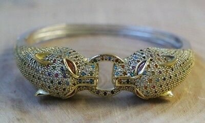925 Sterling Silver Handmade Authentic Turkish Mix Bracelet Bangle Cuff