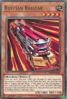 3x Ruffian Railcar - LED4-EN042 - Common 1st Edition yugioh konami original 3x