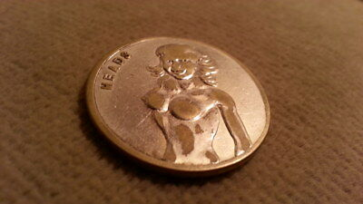Lady Luck  Heads/Tails Good Luck Coin.