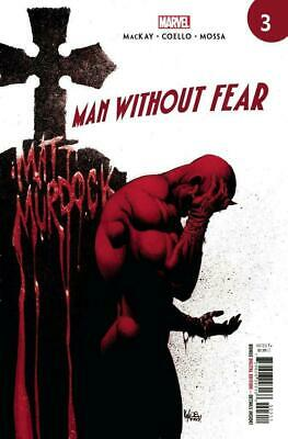 Man Without Fear #3 (Of 5) (2019) 1St Printing Kyle Hotz Main Cover Marvel