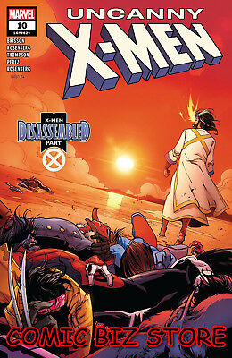 Uncanny X-Men #10 (2019) 1St Print Camuncoli Main Cover Bagged & Boarded ($4.99)
