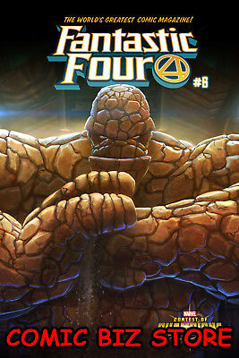 Fantastic Four #6 (2019) 1St Printing Mystery Variant Cover Marvel Comics