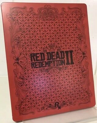 Red Dead Redemption II G2 Steelbook (Case only) RARE! COLLECTORS