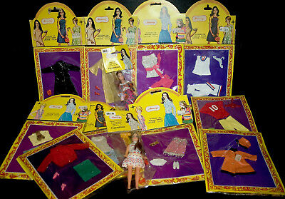 2 MAMMY Topper Dawn Clone DOLLS & 10 rare OUTFITS CILLY 15cm  PUPPENHAUS PUPPEN