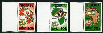 Nigeria 1991 Mnh Set Organization Of African Unity Heads Of State