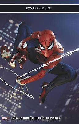 FRIENDLY NEIGHBORHOOD SPIDER-MAN #1 GAME VARIANT 1:10 Bagged & Boarded NM