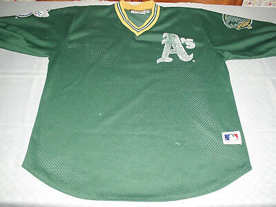 Maglia Casacca Baseball Mlb Oakland Athletics One Size Pro One Jersey Shirt