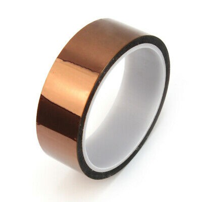 Hot Sale 30mm X 100ft Kapton Gold Tape High Temperature Heat Resistant Pol wfq