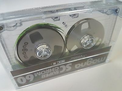 Magna reel-to-reel SuperChrome C-60 audio cassette