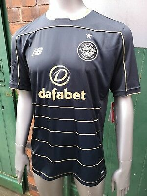 BNWT Genuine New Balance Celtic FC Away Shirt. 2016/17. Large