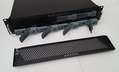 "- 2U Rackmount case 1x5.25"" + 6x3.5"" Hot Swap SATA/SAS & 1x2.5"" HDD Hidden bay"