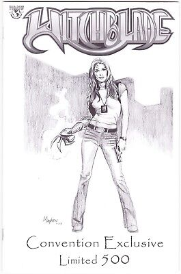 Witchblade #61 - Jay Company Convention Sketch Variant - Ltd To 500