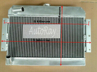 5 ROW ALUMINUM RADIATOR FOR MGB GT//ROADSTER TOP-FILL 1968-1975 74 73 72 71 70 69