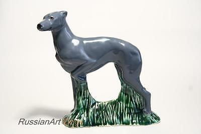 Statue Italian Greyhound ceramic figurine