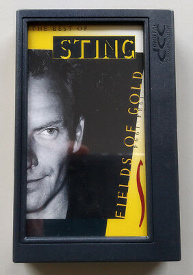 DCC Digital Compact Cassette Tape Sting: Fields of Gold: Best of Sting 1984-1994