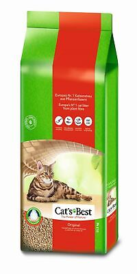 Cat´s Best Öko Plus 40 Liter = 17,2 Kilo  (0,74 EUR pro l)