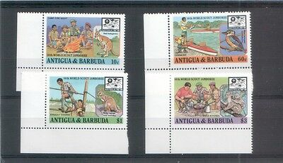 Antigua & Barbuda 1987 Pfadfinder Scouting Tiere animals
