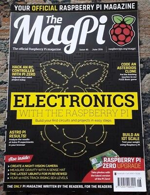 The MagPi. Official Raspbery Pi magazine. Issue 46: Electronics.