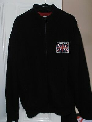 mens barbour international cardigan xxl