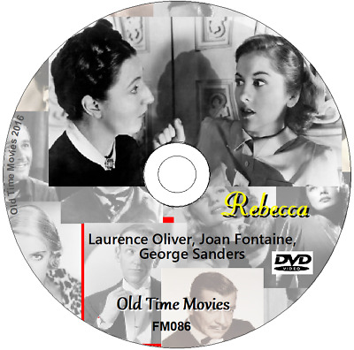 Rebecca - Laurence Oliver, Joan Fontaine, George Sanders DVD 1940