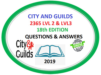 City & Guilds 2365 Level 2 And 3, Exam Questions/answers,*quick Email Dispatch*