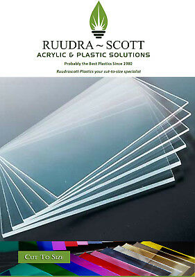 A4  Clear Acrylic Plastic Sheets Perspex