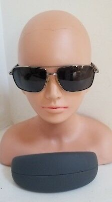 7be6847ba1a9d0 PRADA Sunglasses SPS 51M Gunmetal Shades MADE IN ITALY (58 15) 5AV -5Z1 140
