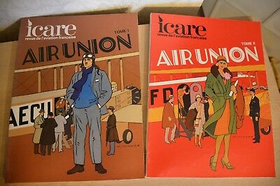 """ICARE """"Air Union"""" 2 volumes"""