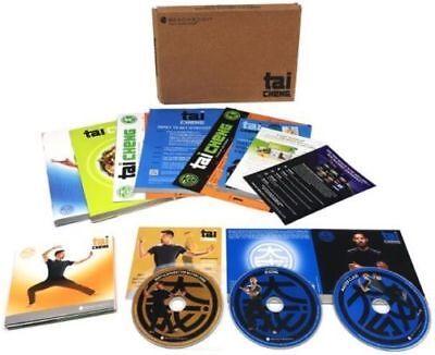 Tai Cheng New Package 8 Dvd Set With All Guides + Book + Band! Free Shipping