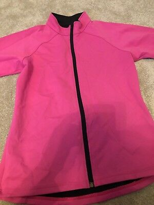 Pink Gees Active Ice Skating Zip Jacket