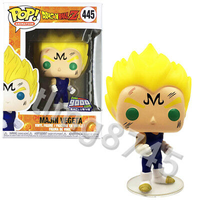 Funko Pop Animation Dragon Ball Z Majin Vegeta #445 Vinyl Figure with Protector