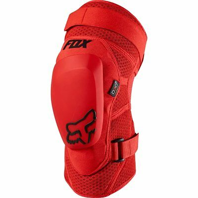 Fox Racing Knee/Shin Guards (Red / Small Size)