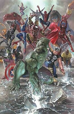 Legacy By Alex Ross Poster Marvel Comics