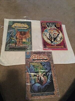3 Elric Comic Books 1988 In Protective Covers