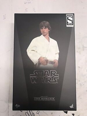 Hot Toys 1/6 Star Wars Episode IV Luke Skywalker Exclusive Sideshow MMS297