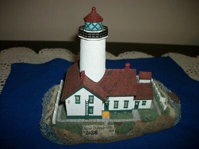 Harbour Lights  NEW DUNGENESS WASHINGTON 261 Lighthouse With COA