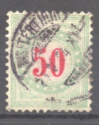 Switzerland, 1883 Postage Due,  Zumstein 20 A K, VF + used