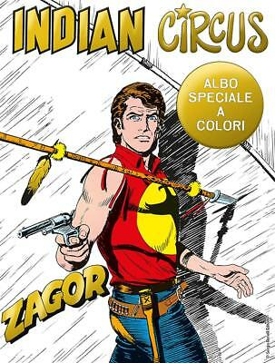 Zagor Indian Circus   Albo Speciale A Colore   Variant Gold