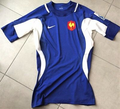 Superbe Maillot Homme Rugby France FFR - NIKE - Taille XL - Etat neuf