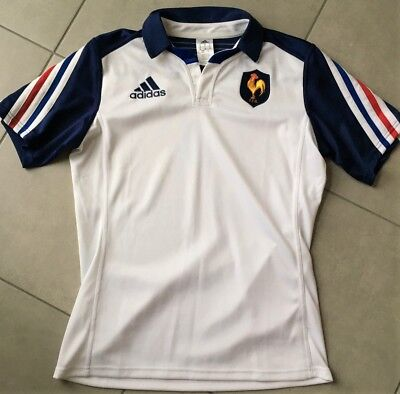 Superbe Maillot Homme Rugby France FFR - ADIDAS - Taille M - Etat neuf