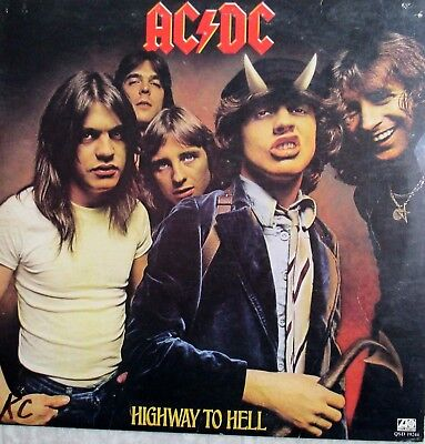 AC/DC  + Highway to Hell  + original 1979 LP+ NM  +Canada pres