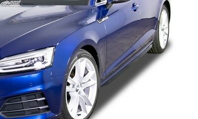 """AUDI A5 (F5) (Coupe + Cabrio + Sportback)  """"Slim"""" Look Side Skirts"""