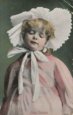 """""""Hundred Year old photo postcard from collection"""" Lady Disdain"""