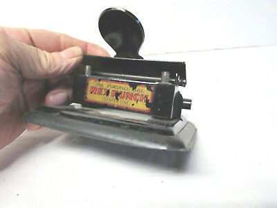 Vintage Hummer Line two hole Rex Punch