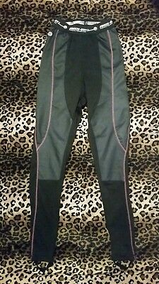 Bilt Freeze Out Thermal Leggings Womens Motorcycle Riding Cold Gear Sz S-M New